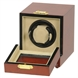 Picture of Single Watch Winder Burl Wood w/LCD Dispaly