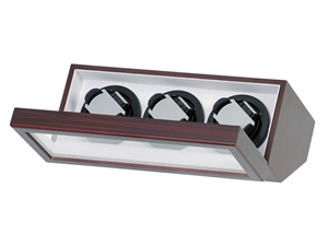 Picture of Triple Watch Winder With Japanese Mabuchi Motors